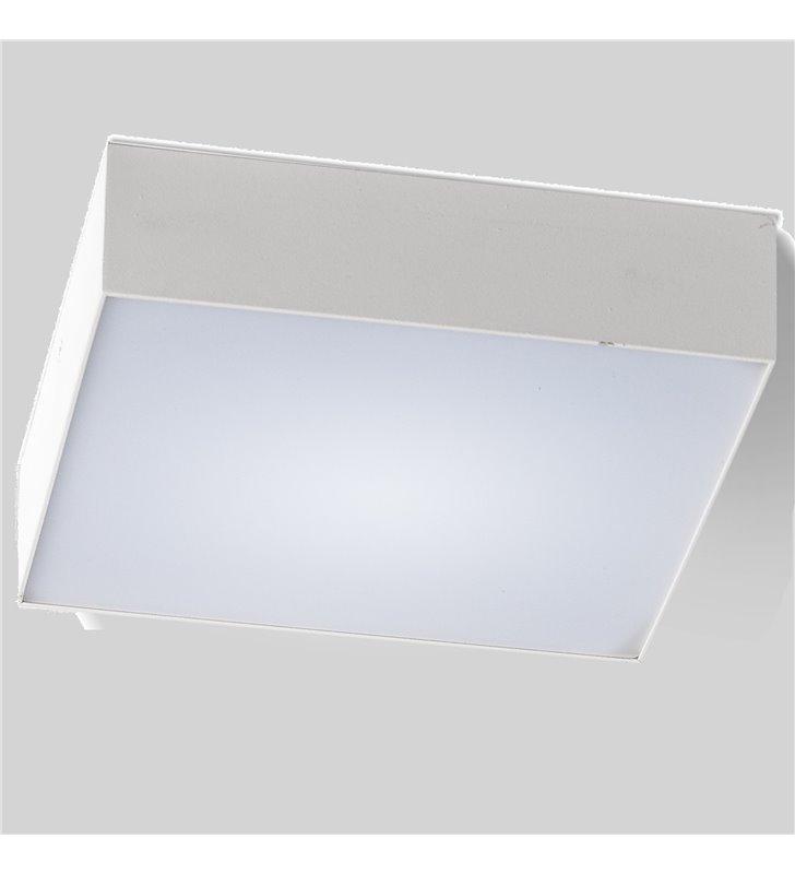 Mały kwadratowy plafon Monza 220 biały LED 4000K