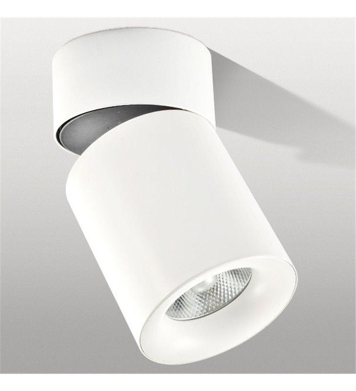 Siena LED lampa sufitowa downlight biała ruchoma naturalna barwa światła 4000K