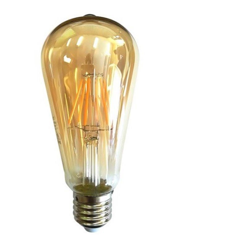 Żarówka dekoracyjna Decorative Golden Glass LED E27 6W 2200K