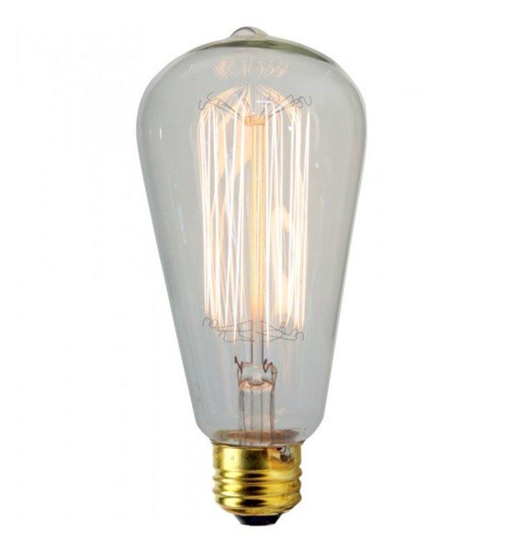 Żarówka dekoracyjna z widocznym żarnikiem Decorative E27 25W 2200K