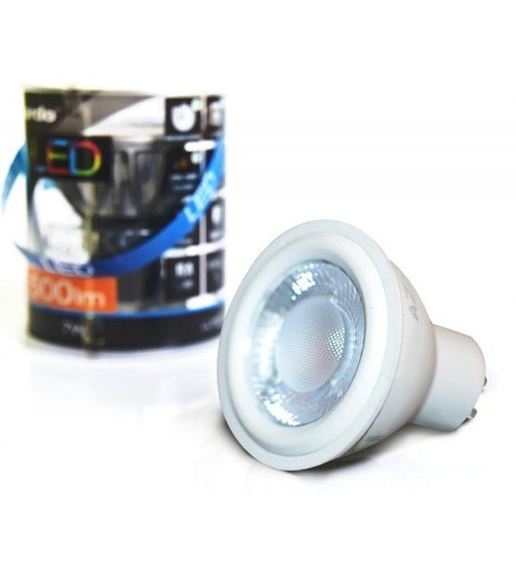 Żarówka biała LED GU10 7W 3000K 500lm