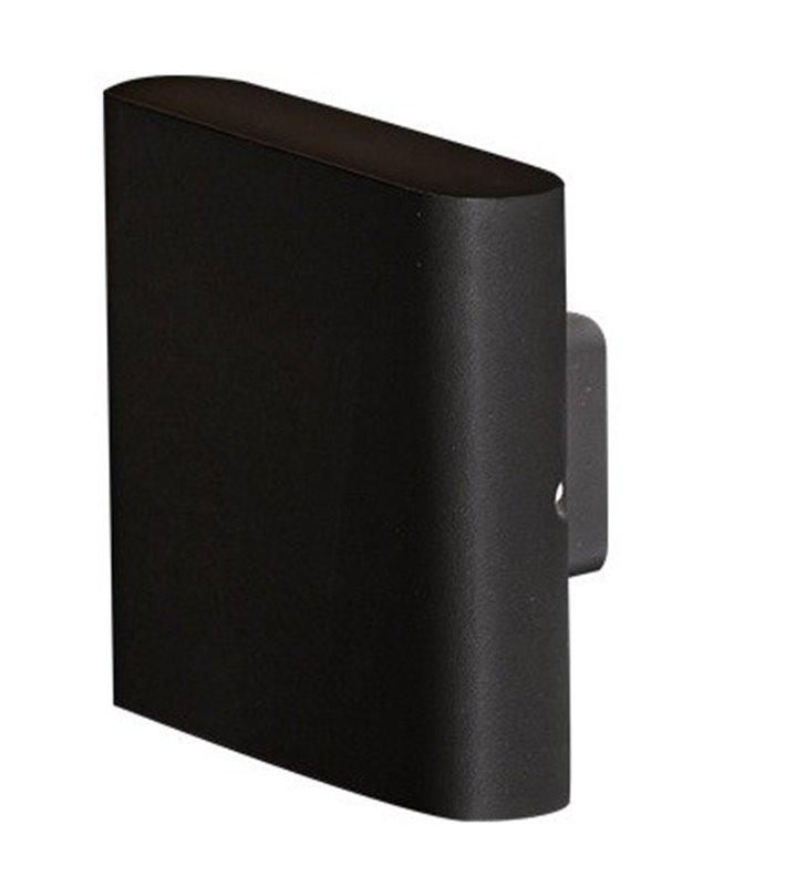 Nowoczesny czarny kinkiet z metalu Vigo LED