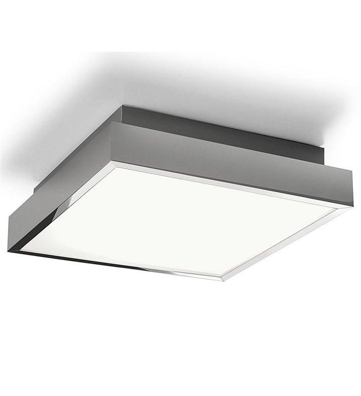 Plafon do łazienki Bassa 245 LED kwadratowy nowoczesny w kolorze chrom