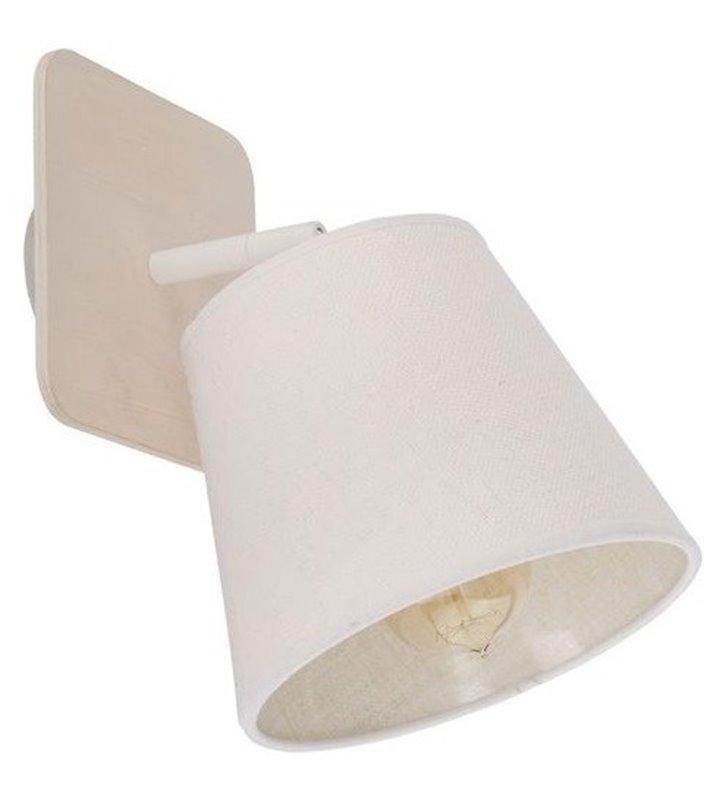 Lampa ścienno sufitowa Awinion biała pojedyncza