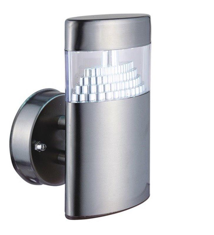 Kinkiet ogrodowy Akros LED metalowy nowoczesny IP44