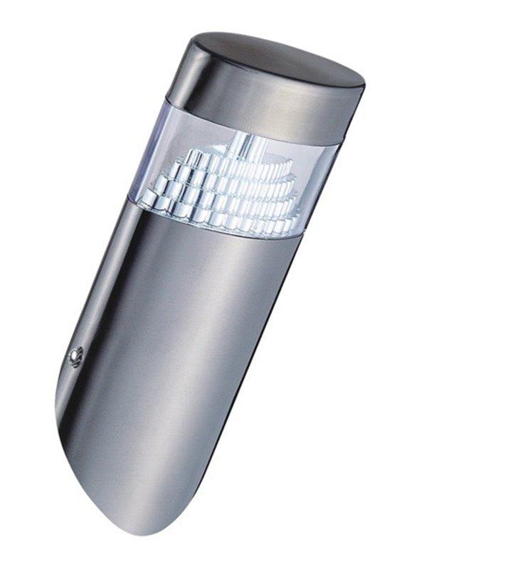 Metalowy kinkiet ogrodowy Akros LED nowoczesny IP44