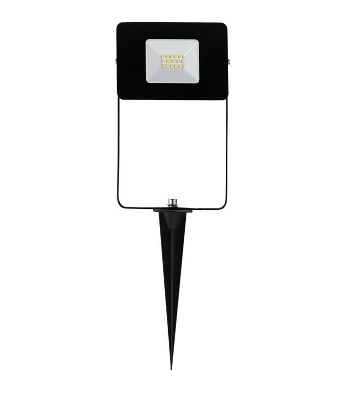 Lampa ogrodowa naświetlacz reflektor Faedo4 LED czarny ze szpikulcem kabel z wtyczką IP44