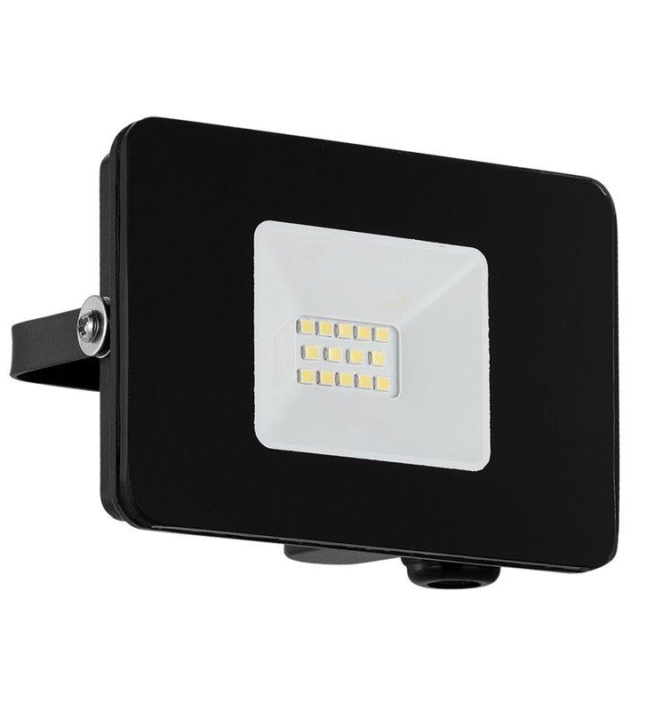 Czarna lampa ścienna naświetlacz Faedo3 mała 10W 5000K