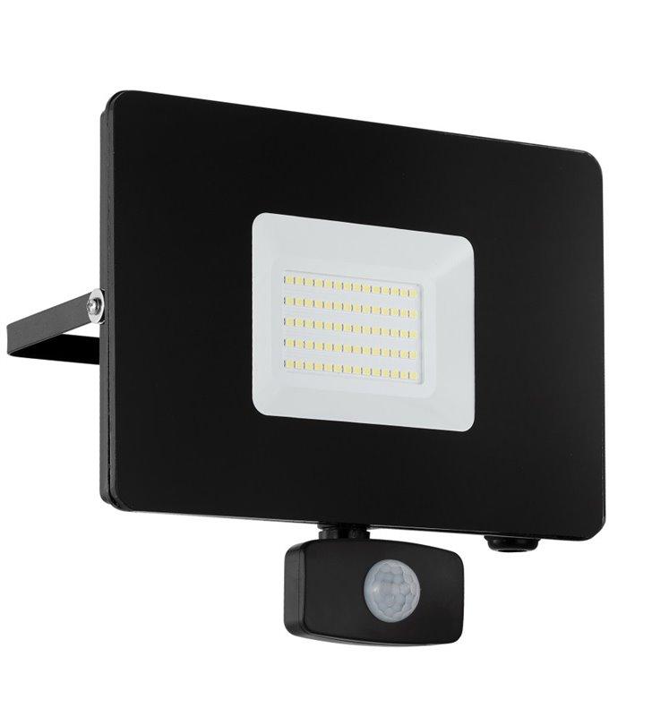 Naświetlacz ogrodowy Faedo3 LED czarny czujnik ruchu 50W 5000K 4800lm IP44 - OD RĘKI