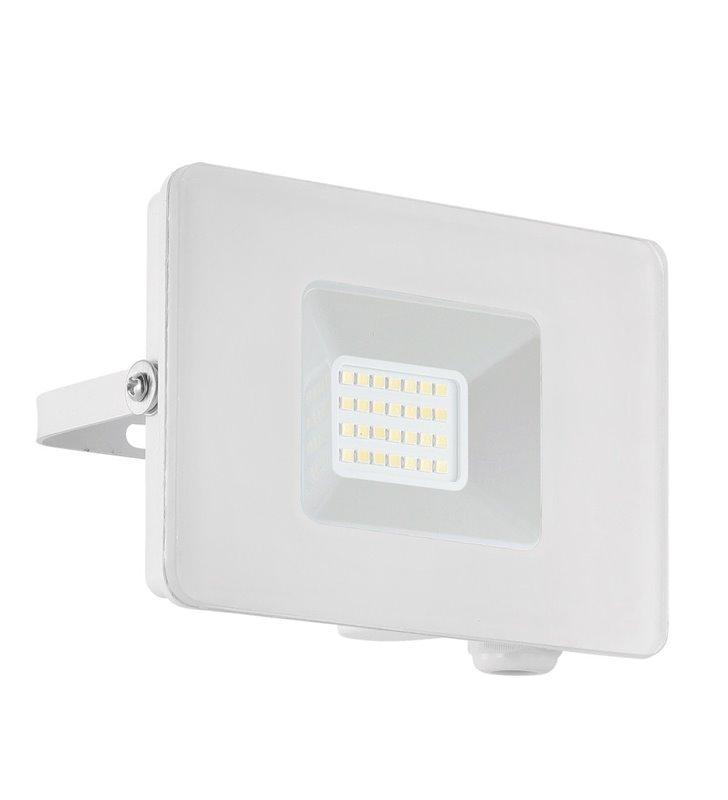 Biały naświetlacz ogrodowa Faedo3 20W 5000K 1800lm IP65