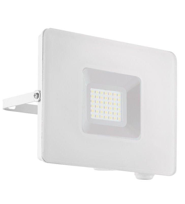 Biały naświetlacz ogrodowa Faedo3 płaski LEDowy 30W 5000K 2750lm IP65