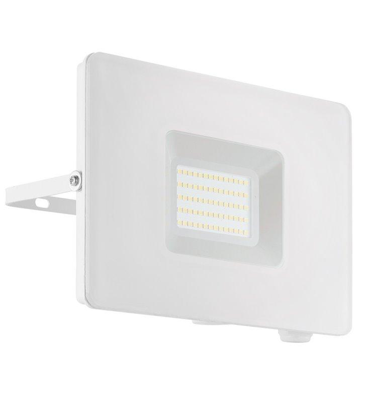 Płaski naświetlacz ogrodowa Faedo3 biały LEDowy 50W 5000K 4800lm IP65