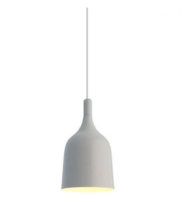 Wisząca nowoczesna lampa Chuck w kolorze białym
