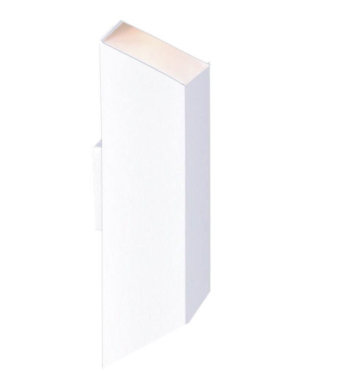 Lampa ścienna Kubik II White biała dwukierunkowe światło