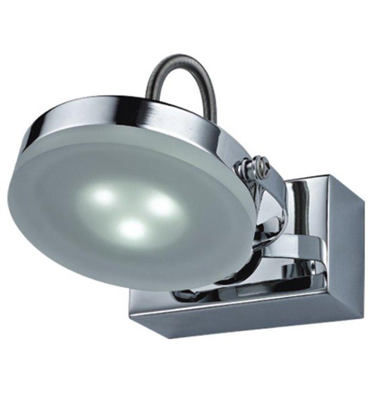 Oprawa oświetleniowa Ledik II nad lustro lub obraz chrom styl nowoczesny ruchomy klosz