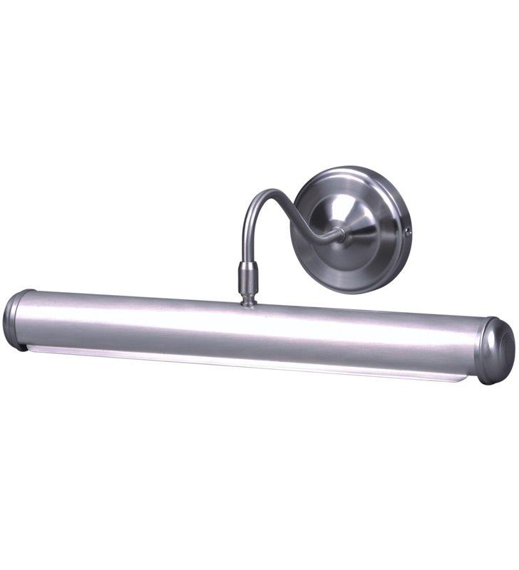 Satynowa klasyczna lampa obrazowa galeryjka Zona 43cm 2 żarówki E14