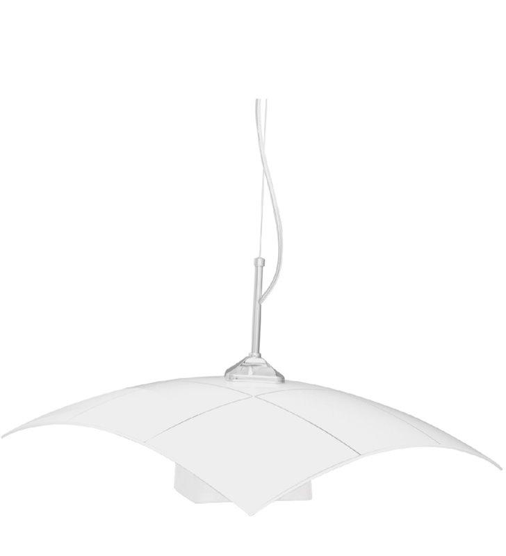 Kuchenna lampa wisząca Kratka klosz ze wzorem podwójny klosz