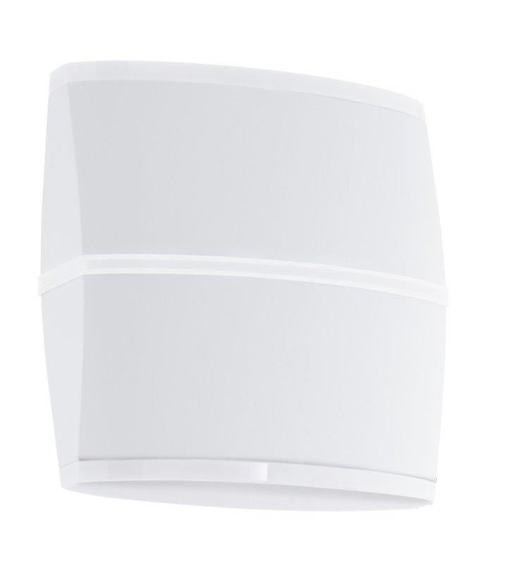 Zewnętrzna lampa ścienna Perafita kolor biały nowoczesna