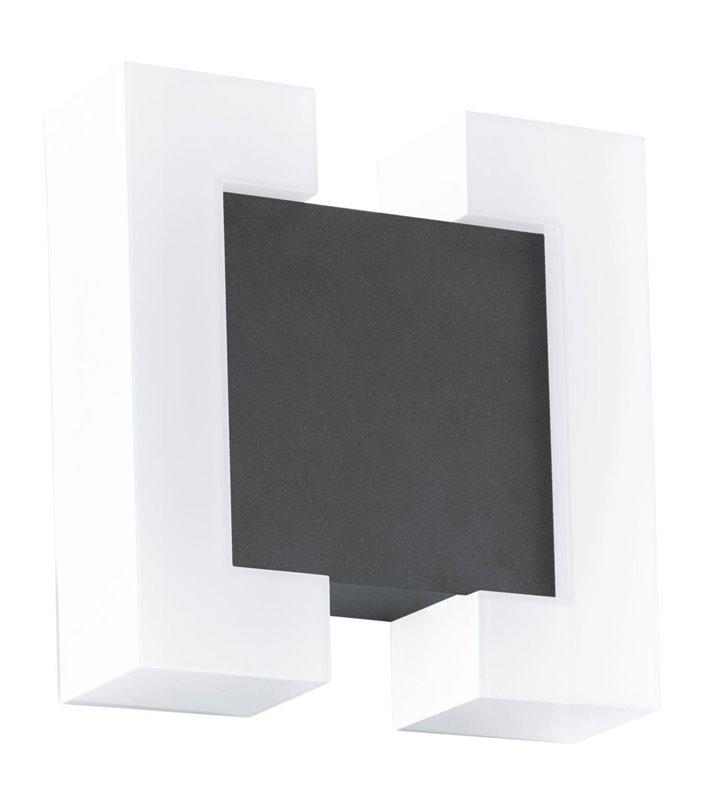 Kwadratowa lampa zewnętrzna Sitia z wymiennym modułem LED nowoczesna