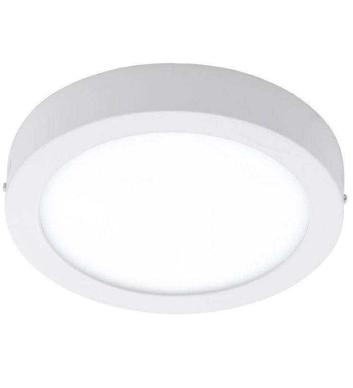 Biały okrągły plafon zewnętrzny Argolis 225 1600lm IP44
