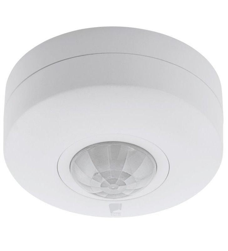 Okrągły biały czujnik ruchu sufitowy Detect Me6 360 stopni