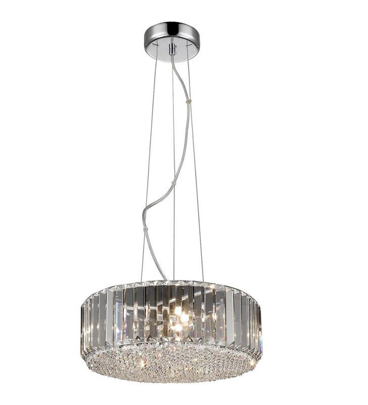 Lampa wisząca Prince okrągła kryształowa do salonu sypialni jadalni