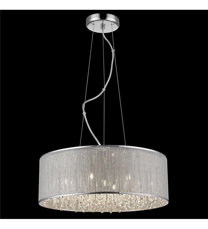 Blink oprawa wisząca z kryształkami do jadalni salonu sypialni średnica 55cm