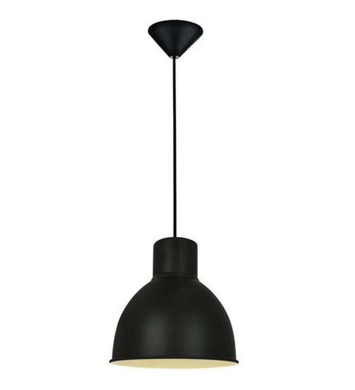 Lampa wisząca Elstra czarna metalowa loftowa