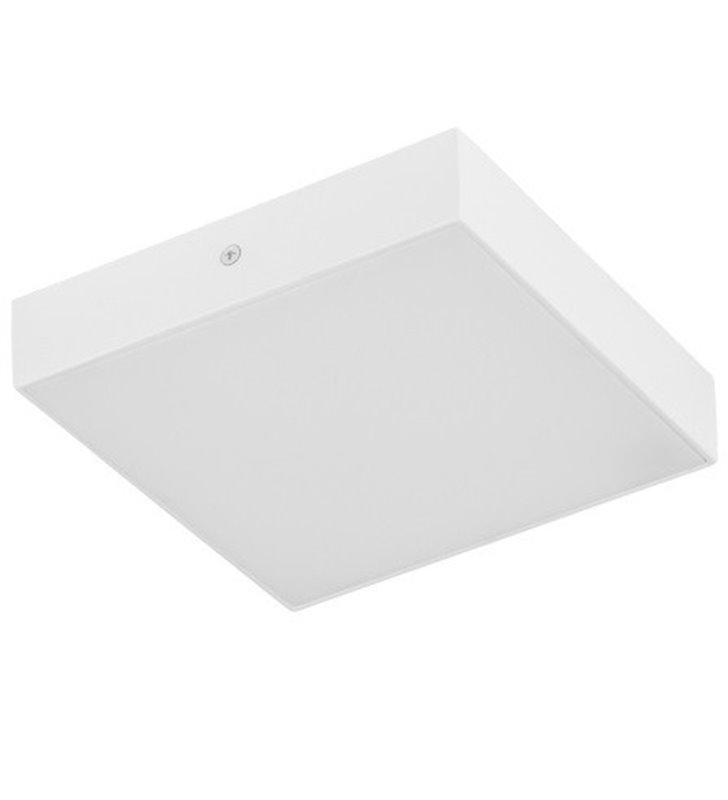 Plafon Testa Square 170 kwadratowy biały mały