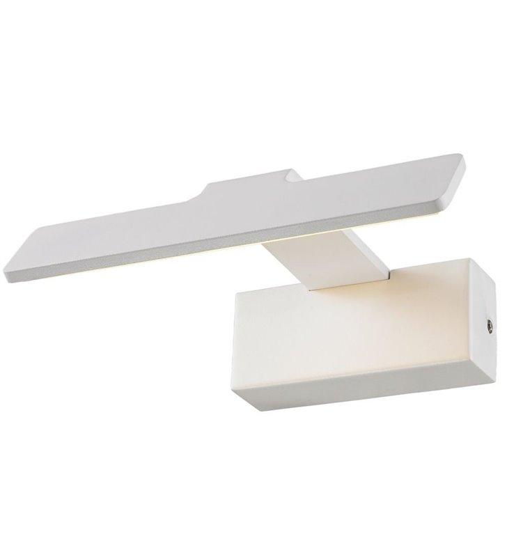 Lampa do oświetlenia obrazu lustra Corto LED biała nowoczesna krótka
