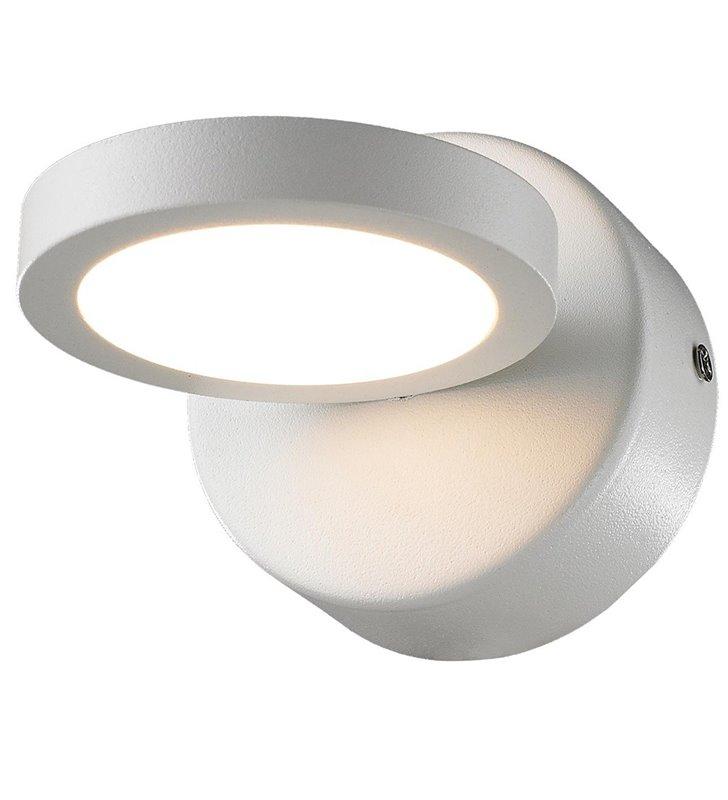 Nowoczesna biała lampa ścienna Kendra