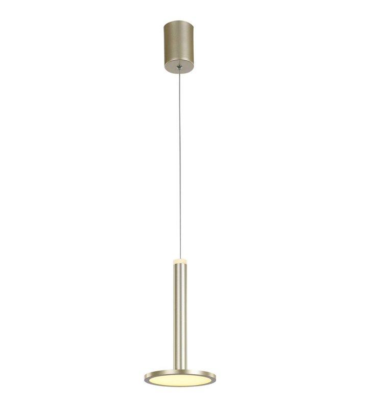 Lampa wisząca Oliver w kolorze zlotym nowoczesna forma