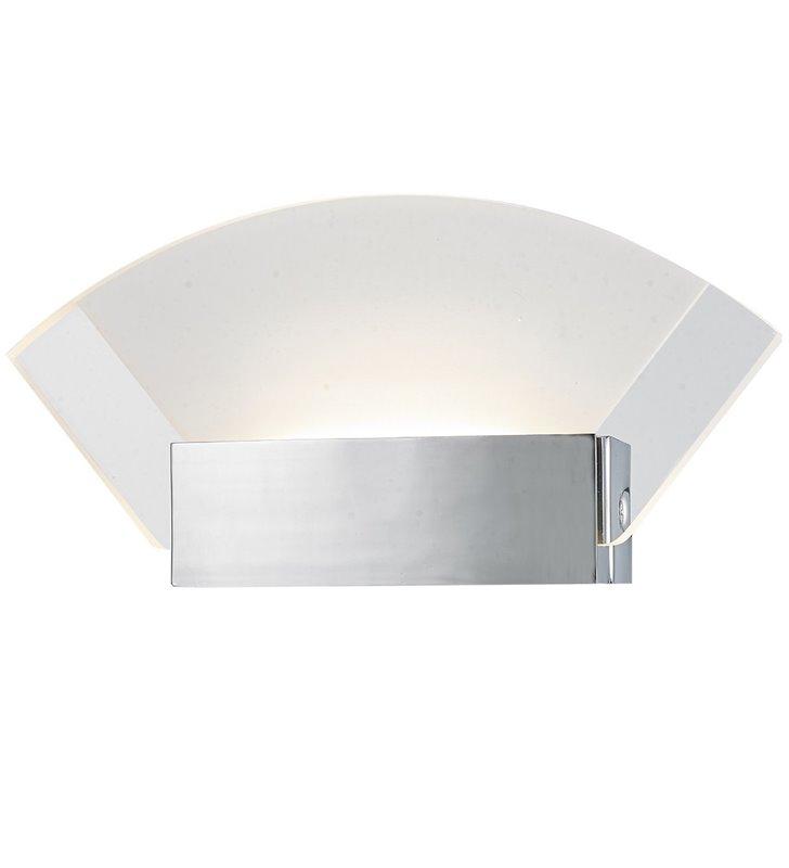 Kinkiet Leann LED nowoczesny z akrylowym kloszem