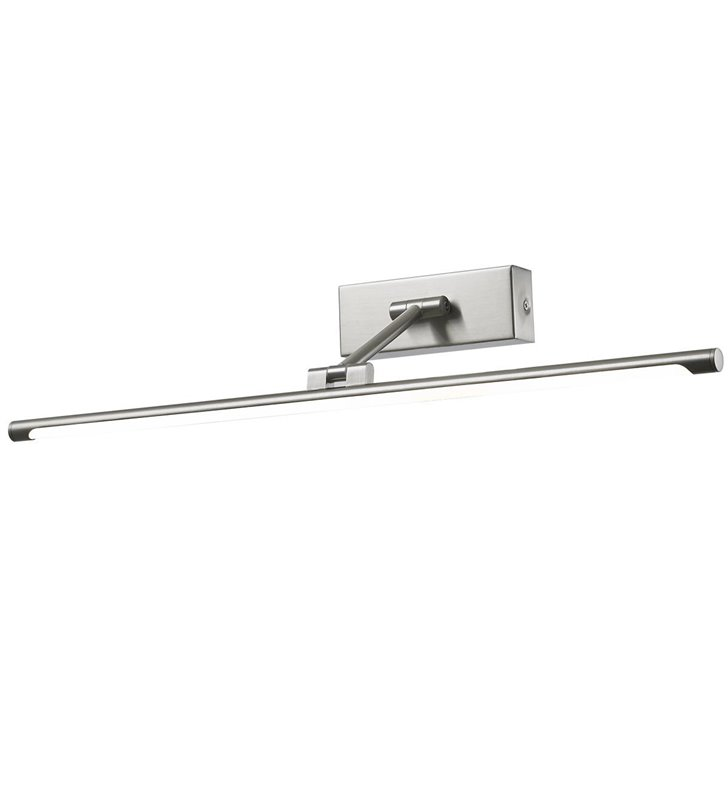 57cm lampa nad obraz Garrix LED nikiel styl nowoczesny ruchomy klosz