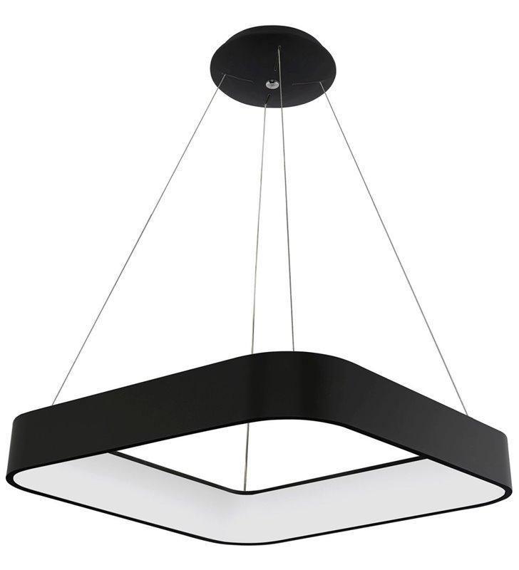 nowoczesne czarne lampy wiszace do kuchni