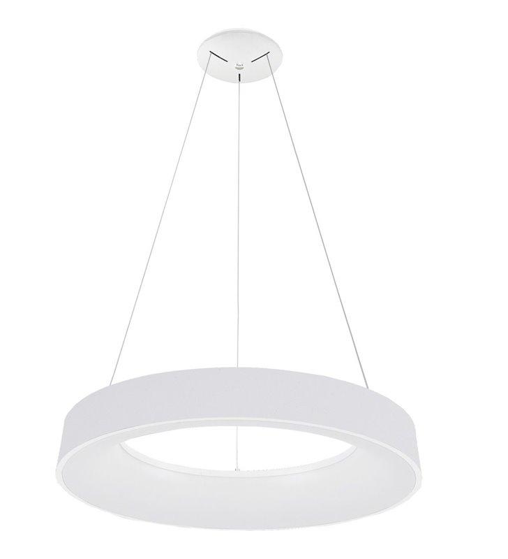 60cm biała lampa wisząca Giulia w nowoczesnym stylu