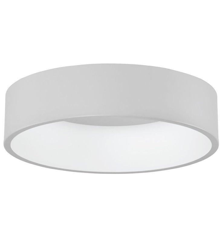 Plafon Chiara 60cm biały okrągły w nowoczesnym stylu