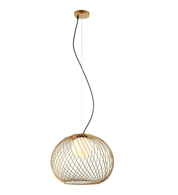 Podwójna nowoczesna lampa wisząca Nuage białe szklane klosze
