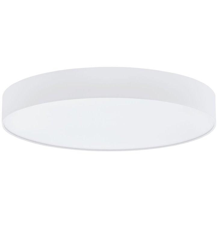 Biały plafon tekstylny Romao1 570 LED okrągły ściemniacz sterowany pilotem