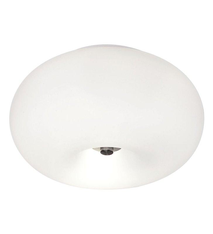 35cm okrągły plafon lampa ścienna Optica matowe szkło