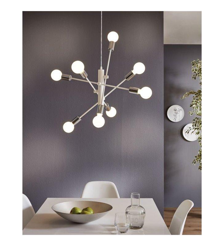 salon lampy nowoczesne