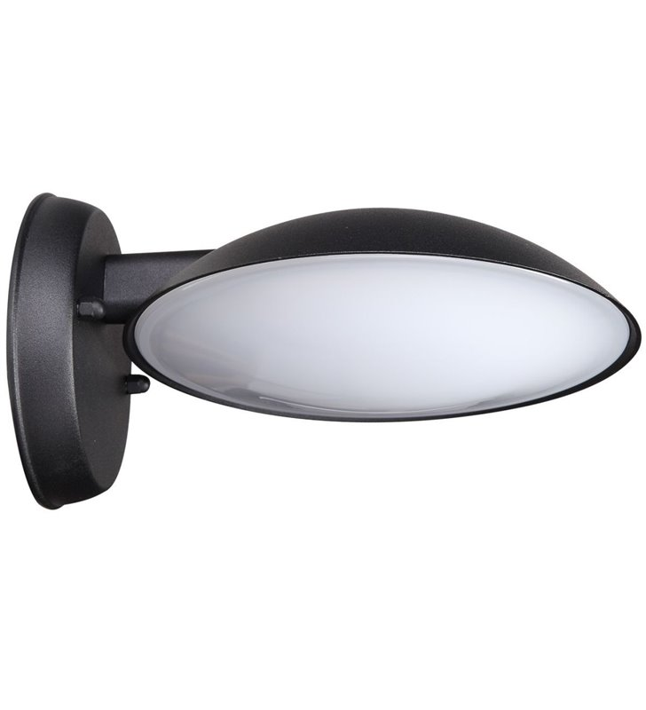Kinkiet ogrodowy Piombino LED czarny