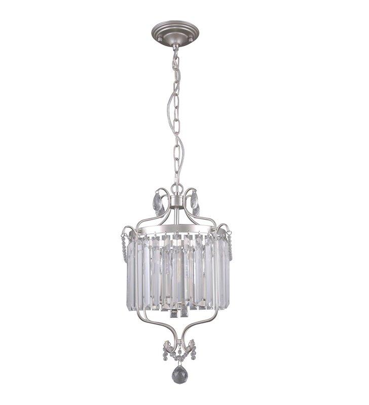Kryształowa lampa wisząca w stylu klasycznym Rinaldo zawijasy dekoracyjna do salonu jadalni sypialni