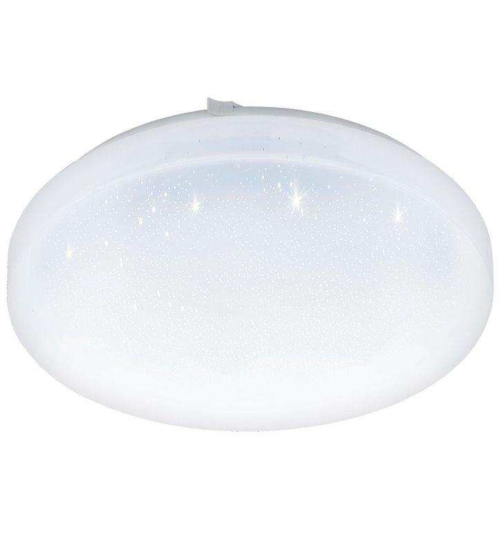 Frania-S 43cm biały plafon z efektem kryształowego blasku 3000K