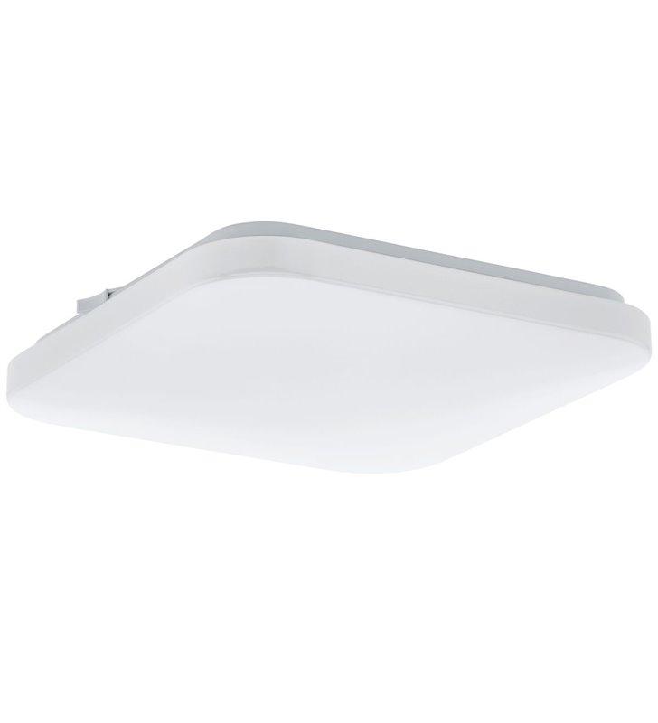 Plafon Frania 330 LED kwadratowy biały bez wzoru gładki tworzywo