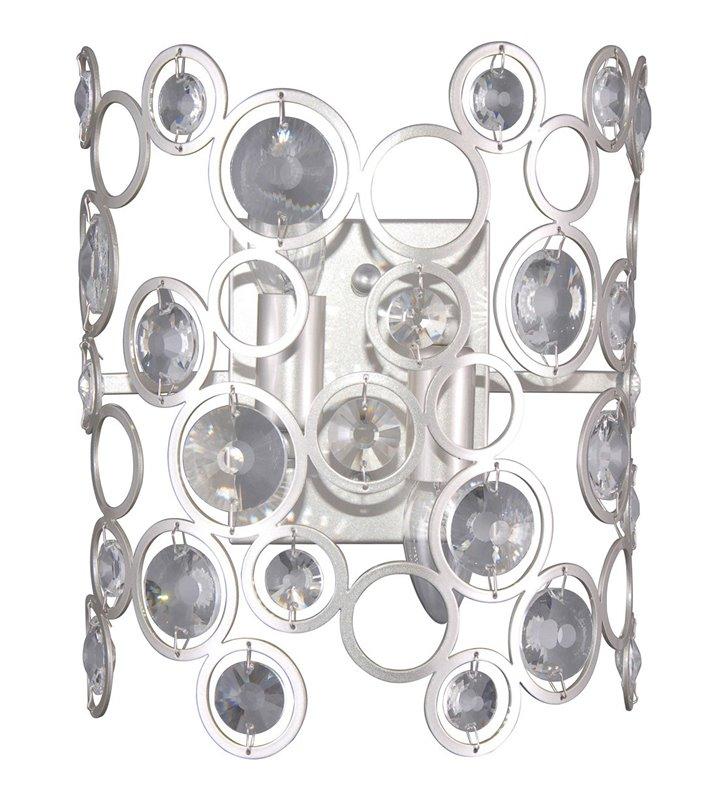 Kinkiet Nardo nowoczesny kryształowy dekoracyjny