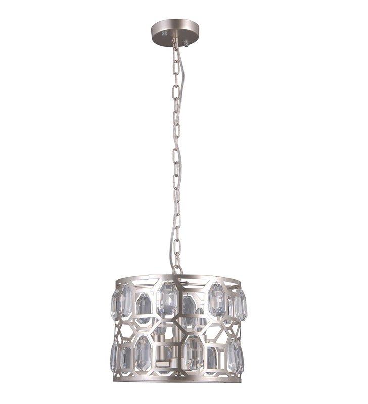 30cm zwis Momento kolor szampana kryształki do salonu sypialni jadalni nad stół