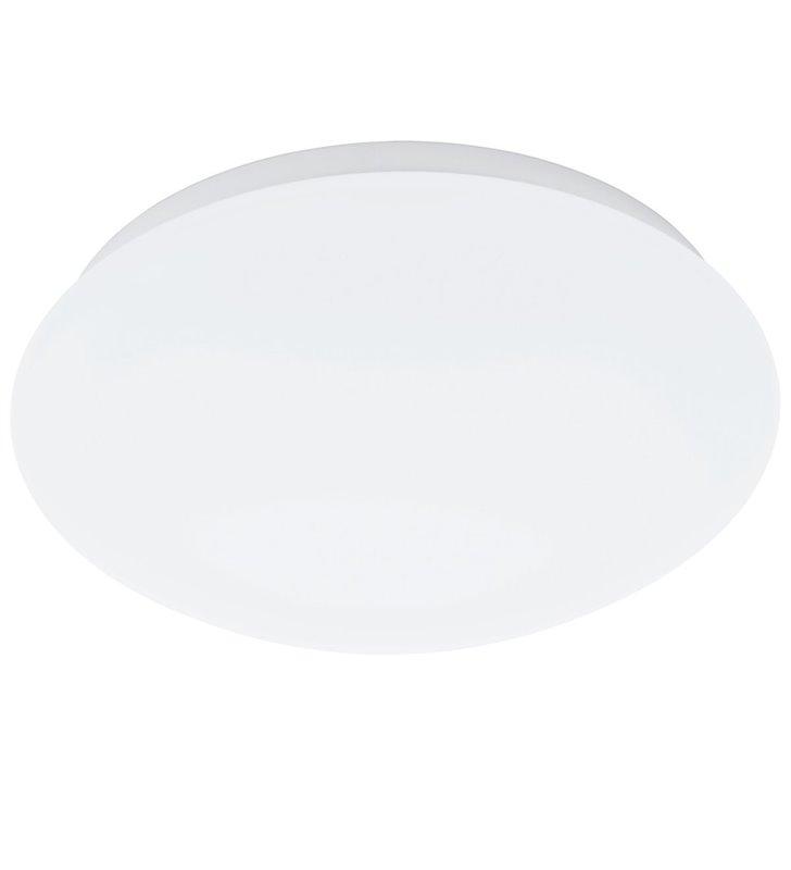 Plafon Giron-M 260 mały biały okrągły z czujnikiem ruchu