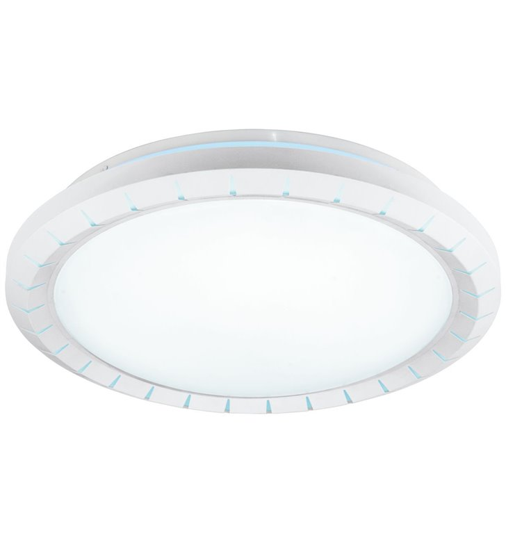 Średni okrągły plafon  z regulacją barwy światła Gusama 41cm okrągły