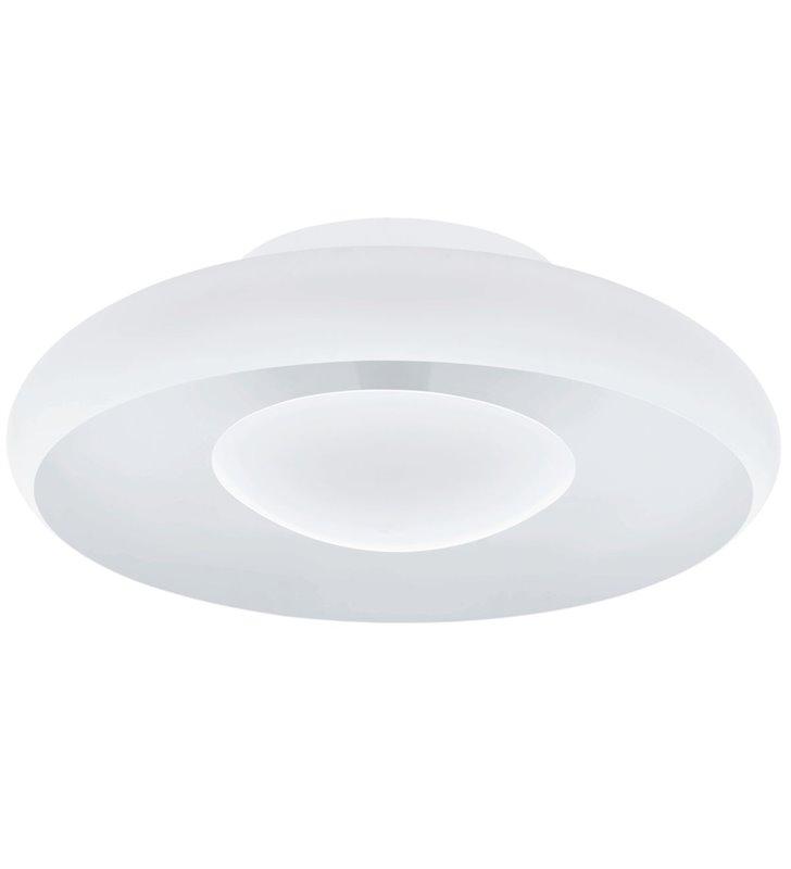 Wewnętrzny plafon sufitowy Meldola LED śrdnica 56cm biały metalowy okrągły nowoczesny z możliwością ściemniania